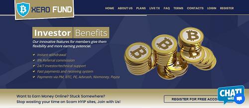 3 Xerofund Money Plan